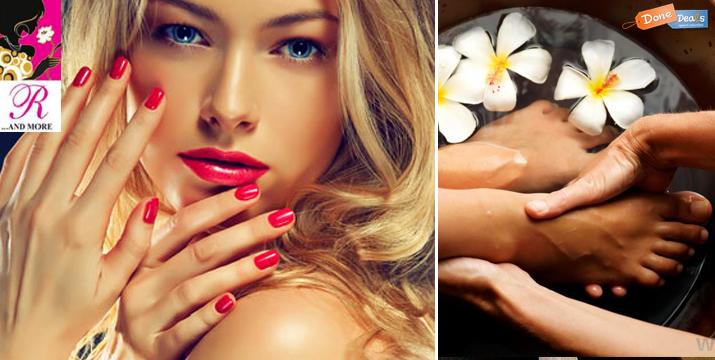 Μόνο 10€ από 30€ (-66%) για ένα ημιμόνιμο χρώμα διάρκειας 3 εβδομάδων Manicure ή Pedicure, από το Nails R & More στο Σύνταγμα . εικόνα