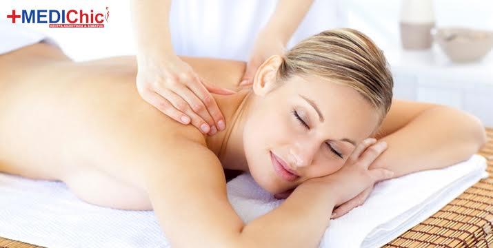 Μόνο 5€ από 35 (-85%) για ένα αναζωογονητικό Full Body Anti-stress Massage με αιθέρια έλαια διάρκειας 30', για το ιδανικό κλείσιμο μίας κουραστικής ημέρας, ιδανικό για άντρες και γυναίκες, στο ολοκαίνουριο MediChic στο Μετρό του Αγ. Δημητρίου. εικόνα