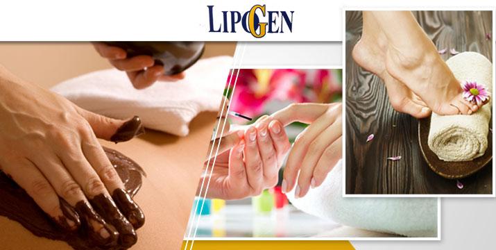 Πλήρες πακέτο ομορφιάς!! Μόνο 11.90€ από 55€ (-78%) για 1 manicure (χρώμα ή γαλλικό), 1 pedicure (χρώμα ή γαλλικό) και 1 spa σοκολατοθεραπείας χεριών και ποδιών, για μια αναζωογονητική περιποίηση των άκρων σας, στο hair & beauty spa by Lipogen στη Νέα Σμύρνη. εικόνα
