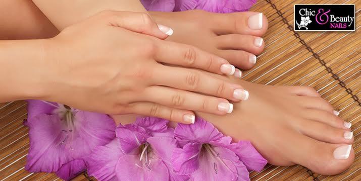 9€ από 18€ (-50%) για ένα Ολοκληρωμένο Manicure Ημιμόνιμο επιλογής από απλό ή γαλλικό ή ένα Πετικιούρ (Χρώμα ή Γαλλικό), από το Εργαστήριο αισθητικής «Chic and Beauty Med Spa» στo Περιστέρι!, πλησίον μετρό Αγ. Αντωνίου!! εικόνα