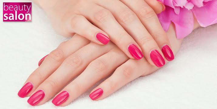 Μόνο 20€ από 72€ (-72%) για 4 ημιμόνιμα Manicure, χρώμα ή γαλλικό, από το Beauty Salon στο Χαλάνδρι.