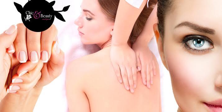 Μόνο 25€ από 135€ (-81%) για ένα πακέτο περιποίησης με 6 υπηρεσίες που περιλαμβάνουν: 1 ημιμόνιμο μανικιούρ, 1 σχηματισμό φρυδιών, 1 δερμοαπόξεση, 1 λιπομέτρηση, 1 φωτοανάπλαση με IPL Laser, 1 χαλαρωτικό ή λεμφικό μασάζ διάρκειας 30', στο Chic & Beauty Med Spa στο Περιστέρι, πλησίον μετρό Αγ. Αντωνίου. εικόνα