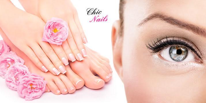 11,90€ από 25€ (-52%) για ένα (1) manicure με ημιμόνιμη βαφή (απλό) & ένα (1) pedicure (απλό) & ένα (1) σχηματισμό φρυδιών & ένα (1) spa peeling χεριών, από το Κέντρο Ομορφιάς & Ευεξίας Chic Nails στην Κηφισιά. εικόνα
