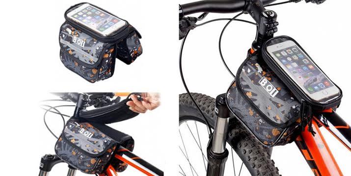 12,9€ για ένα Τσαντάκι Ποδηλάτου με αποσπώμενη θήκη κινητού, από την DoneDeals Goods με ΔΩΡΕΑΝ πανελλαδική αποστολή στο χώρο σας. εικόνα