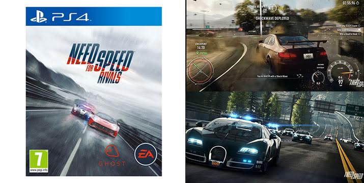 22,90€ για το push the limits παιχνίδι Need for Speed Rivals για Playstation 4, από την DoneDeals Goods με ΔΩΡΕΑΝ πανελλαδική αποστολή στο χώρο σας. εικόνα