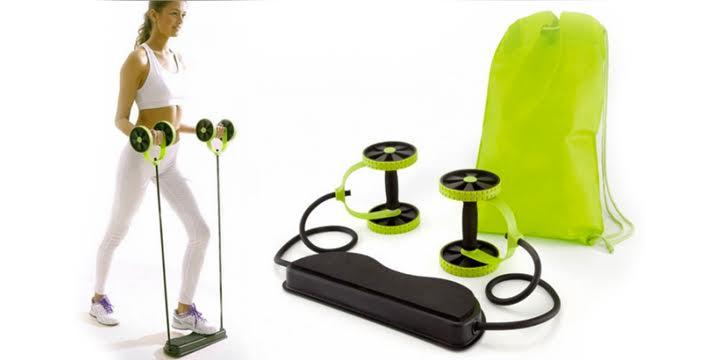 14,9€ από 37€ (-60%) για ένα Όργανο Γυμναστικής πολλαπλών χρήσεων αντίστασης με ρόδες και λάστιχα - Revoflex Xtreme για να γυμναστείτε γρήγορα κι έξυπνα στην άνεση του σπιτιού σας, από την DoneDeals Goods με ΔΩΡΕΑΝ πανελλαδική αποστολή στο χώρο σας. εικόνα