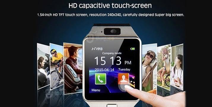 """35€ από 85€ (-59%) για ένα Smart Watch DZ09, το ρολόι νέας γενιάς που δεν συνδέεται μόνο με το κινητό σας, αλλά μπορεί να γίνει και το ίδιο κινητό, με οθόνη & κάμερα και με δυνατότητα να κάνετε κλήσεις, να απαντήσετε σε μηνύματα, με αντικλεπτικό σύστημα, βηματομετρητή, Sleep Monitor και ημερολόγιο, με παραλαβή ή δυνατότητα πανελλαδικής αποστολής στο χώρο σας από το """"Idea Hellas"""" στη Νέα Ιωνία. εικόνα"""