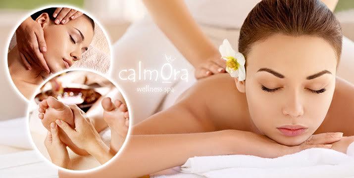28€ από 80€ (-52%) για ένα πακέτο περιποιήσης σώματος & προσώπου που περιλαμβάνει ένα (1) Antistress Massage & ένα (1) Hydraview Face Detox Care και ΔΩΡΟ ένα (1) Θεραπευτικό Μασάζ Πελμάτων! Υπέροχο ταξίδι αισθήσεων συνολικής διάρκειας 120 λεπτών, στο Calmora Wellness Spa στο Μαρούσι!! εικόνα