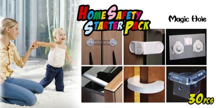 9,9€ από 19,9€ (-50%) για ένα (1) σετ από 30 τεμάχια - προστατευτικά για πρίζες, γωνίες, συρτάρια, το ψυγείο και άλλα μέρη του σπιτιού, ώστε να μην είναι εύκολα προσβάσιμα από μικρά παιδιά, με παραλαβή από το κατάστημα ''Magic Hole'' στο Παγκράτι και με δυνατότητα πανελλαδικής αποστολής. εικόνα