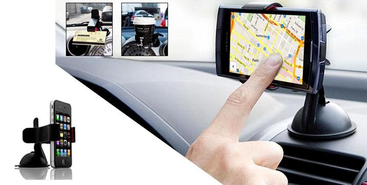 8,90€ από 12,90€ για μια Βάση Αυτοκινήτου Τύπου Μανταλάκι για όλα τα κινητά και GPS έως 10.3cm, από την DoneDeals Goods με ΔΩΡΕΑΝ πανελλαδική αποστολή στο χώρο σας. εικόνα