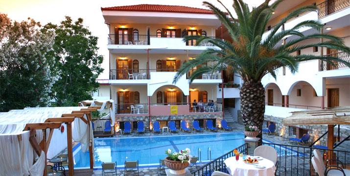 190€ από 380€ (-50%) για 4 ήμερες/3 διανυκτερεύσεις 2 ατόμων σε δίκλινο δωμάτιο με πρωινό, στο Calypso Hotel στη Κασσάνδρα Χαλκιδικής. εικόνα