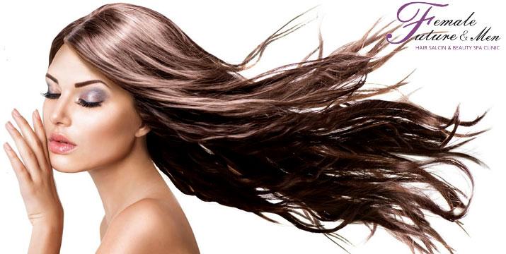 8€ από 18€ (-56%) για ένα Χτένισμα Επιλογής από ίσιο ή φλου και μία Θεραπεία με Χαβιάρι ενυδατοθρεπτική και αντιγηραντική θεραπεία, η οποία έχει την ικανότητα να αναζωογονεί και τιθασεύει τα μαλλιά, στον πολυχώρο ομορφιάς Female Future & Men Hair ,Beauty & Spa στο Παλαιό Φάληρο. εικόνα