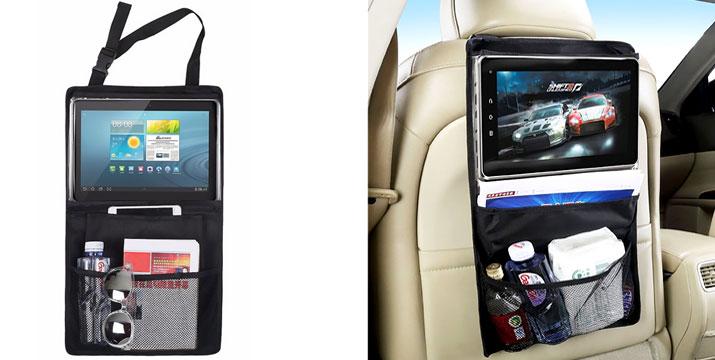 9,90€ από 13,90€ για μια Θήκη Αποθήκευσης Tablet για το Προσκέφαλο του Αυτοκινήτου, από την DoneDeals Goods με ΔΩΡΕΑΝ πανελλαδική αποστολή στο χώρο σας. εικόνα
