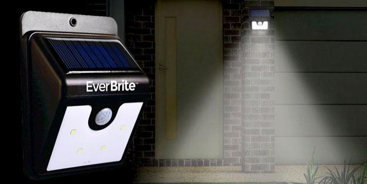 7,90€ από 14,90€ (-50%) για 1 Αδιάβροχο Ηλιακό Φωτιστικό Ever Brite ή 14,90€ από 29,80€ για 2 Αδιάβροχα Ηλιακά Φωτιστικά Ever Brite με Αισθητήρα Κίνησης & Αυτοκόλλητη Ταινία που Κολλάει Παντού, με παραλαβή από το κατάστημα Magic Hole στο Παγκράτι και με δυνατότητα πανελλαδικής αποστολής. εικόνα