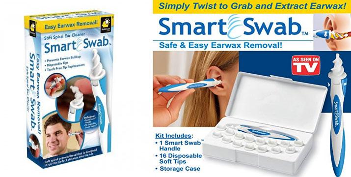 7,90€ από 14€ για ένα Kαθαριστικό Αυτιών Smart Swab, με παραλαβή από το κατάστημα Magic Hole στο Παγκράτι και με δυνατότητα πανελλαδικής αποστολής. εικόνα