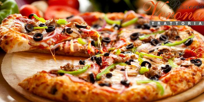 €10 από €20 (-50%) για Γεύμα 2 ατόμων με ελεύθερη επιλογή από τον κατάλογο φαγητού και ποτού, στη Verona Pizzeria Trattoria στην Ηλιούπολη! εικόνα