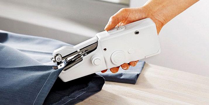 8,90€ από 19,90€ (-55%) για μια Φορητή Ραπτομηχανή Χειρός Handy Stitch που θα αποτελέσει την πιο πρακτική σας λύση στο ράψιμο, το μοντάρισμα και την επιδιόρθωση ρούχων χωρίς το κόστος των μεγάλων ραπτομηχανών ή μοδίστρας, με παραλαβή από το κατάστημα Magic Hole στο Παγκράτι και με δυνατότητα πανελλαδικής αποστολής. εικόνα