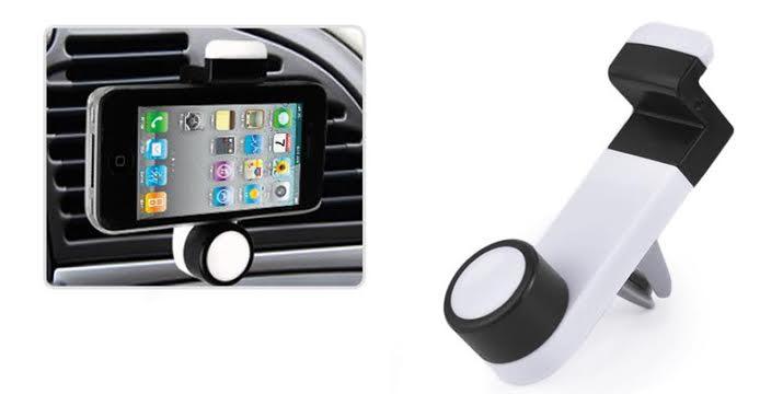 3,90€ από 8,90€ (-56%) για μια φορητή Βάση Στήριξης Αυτοκινήτου για Smartphones σε οποιοδήποτε αεραγωγό αυτοκινήτου,με παραλαβή από το κατάστημα Magichole στο Παγκράτι και με δυνατότητα πανελλαδικής αποστολής.