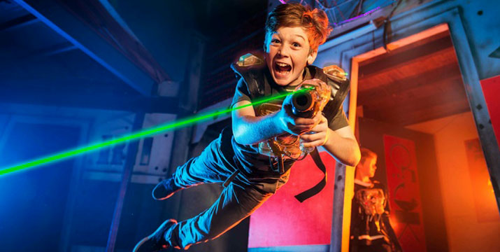 3,50€ από 7€ (-50%) για 1 παιχνίδι Lasertag για 1 άτομο (παιδιά και ενήλικες), ένα παιχνίδι δράσης το οποίο θα μπορούσε να χαρακτηριστεί ως το ηλεκτρονικό