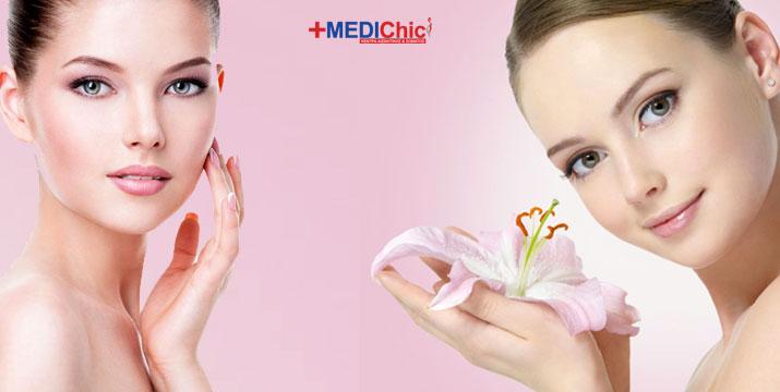 12€ από 45€ (-74%) για ένα βαθύ και πλήρη καθαρισμό προσώπου με γαλάκτωμα & λοσιόν, peeling προσώπου, εφαρμογή ατμού και όζοντος, εξαγωγή σμήγματος, αντισηψία δέρματος με υψίσυχνα ρεύματα, εφαρμογή καταπραϋντικής μάσκας και εφαρμογή ενυδατική κρέμας σε πρόσωπο και μάτια εμπλουτισμένη με θαλάσσιο κολλαγόνο, από το νέο Κέντρο Ομορφιάς MediChic στο μετρό του Αγ. Δημητρίου. εικόνα