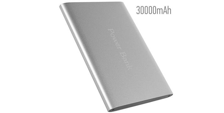 34,90€ από 49,90€ για ένα Power Bank 5V/30000mAh με 2 θύρες USB, από την DoneDeals Goods με ΔΩΡΕΑΝ πανελλαδική αποστολή στο χώρο σας. εικόνα