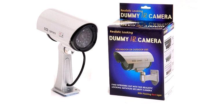 8,90€ από 16€ για μια Ψεύτικη Κάμερα Παρακολούθησης - Dummy Camera, με παραλαβή από το Μagic Hole στo Παγκράτι και δυνατότητα πανελλαδικής αποστολής στο χώρο σας. εικόνα