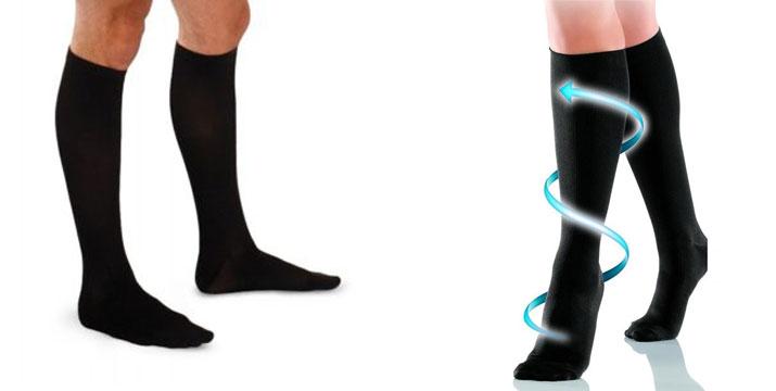 3,90€ από 9,90€ για ένα ζευγάρι Κάλτσες συμπίεσης κατά της κούρασης σε Μαύρο χρώμα, με δυνατότητα παραλαβής και πανελλαδικής αποστολής στο χώρο σας από την DoneDeals Goods.