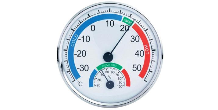 4,50€ από 9,90€ (-55%) για ένα Θερμόμετρο & Υγρόμετρο Ακριβείας, με παραλαβή από το κατάστημα Magic Hole στο Παγκράτι και με δυνατότητα πανελλαδικής αποστολής. εικόνα
