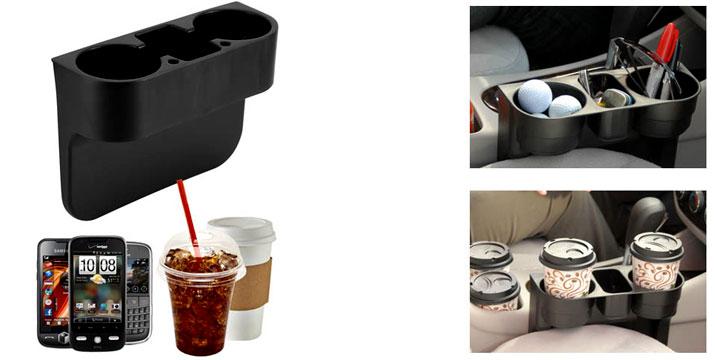 8,90€ από 15,90€ (-44%) για μια Βάση με Διπλή Ποτηροθήκη για το αυτοκίνητο για τη στήριξη των αναψυκτικών ή των μπουκαλιών σας κατά την οδήγηση, από την DoneDeals Goods με ΔΩΡΕΑΝ πανελλαδική αποστολή στο χώρο σας. εικόνα