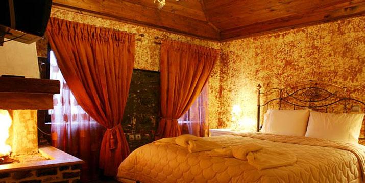 129€ για 3 ημέρες / 2 διανυκτερεύσεις 2 ατόμων σε Standard Room με τζάκι, δωρεάν ξύλα και χειροποίητο παραδοσιακό πρωινό, στον Παραδοσιακό Ξενώνα Τσέγανη στην περιοχή του Αγίου Αθανασίου στο Καϊμακτσαλάν. εικόνα