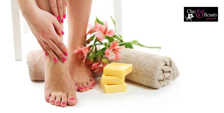 15€ από 30€ (-50%) για ένα Ημιμόνιμο Manicure (κόψιμο, πετσάκια, λιμάρισμα, βάψιμο με ημιμόνιμη βαφή ΚΑΙ ένα απλό Pedicure (κόψιμο, λιμάρισμα, περιποίηση φτέρνας και βάψιμο), στο Chic & Beauty στο Περιστέρι, πλησίον μετρό Αγ. Αντωνίου.