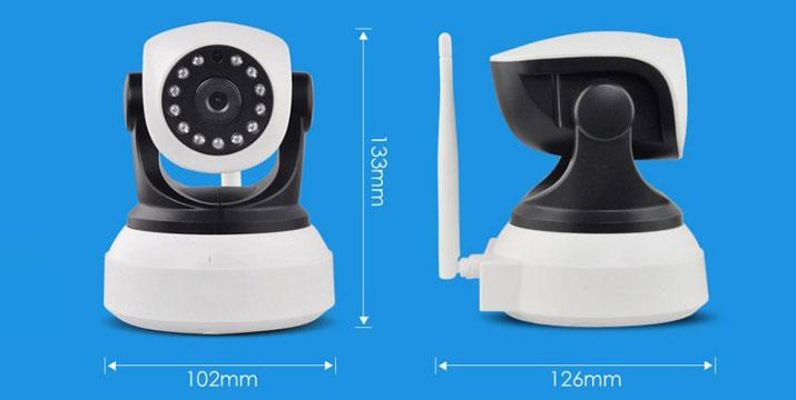 64,50€ από 115€ για μια Ασύρματη Κάμερα IP Εσωτερικού Χώρου P2P H.264 με νυχτερινή λήψη, από την DoneDeals Goods με ΔΩΡΕΑΝ πανελλαδική αποστολή στο χώρο σας.