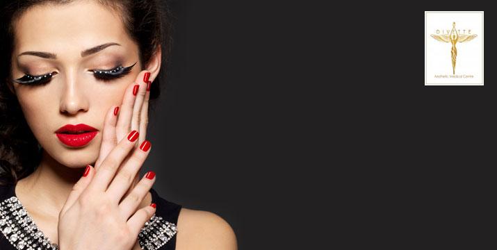 10,90€ από 22€ (-50%) για 1 Ολοκληρωμένο Manicure με Ημιμόνιμη Βαφή (Απλό ή Γαλλικό) ή 14,90€ από 32€ για 1 Θεραπευτικό Πεντικιούρ ή 24,90€ από 50€ για Τοποθέτηση Τεχνητών Νυχιών με Ακρυλικό ή Gel, στον πολυχώρο του Divette Aesthetic Medical Centre στην Γλυφάδα. εικόνα