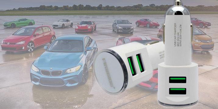 9,90€ από 14,90€ για έναν Φορτιστή Αυτοκινήτου με 2 θύρες USB 3.4A και καλώδιο Lighting Fineblue, με δυνατότητα παραλαβής και πανελλαδικής αποστολής στο χώρο σας από την DoneDeals Goods. εικόνα