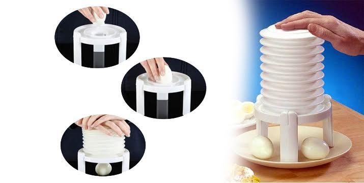 9,90€ από 17,90€ (-45%) για μια Συσκευή για Γρήγορο Καθάρισμα Αυγού - Egg Peeler, από την DoneDeals Goods με ΔΩΡΕΑΝ πανελλαδική αποστολή στο χώρο σας.