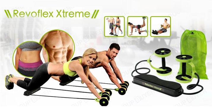 14,90€ από από 37€ (-60%) για ένα Όργανο Γυμναστικής πολλαπλών χρήσεων αντίστασης με ρόδες και λάστιχα - Revoflex Xtreme, με παραλαβή από την Idea Hellas και δυνατότητα πανελλαδικής αποστολής στο χώρο σας.