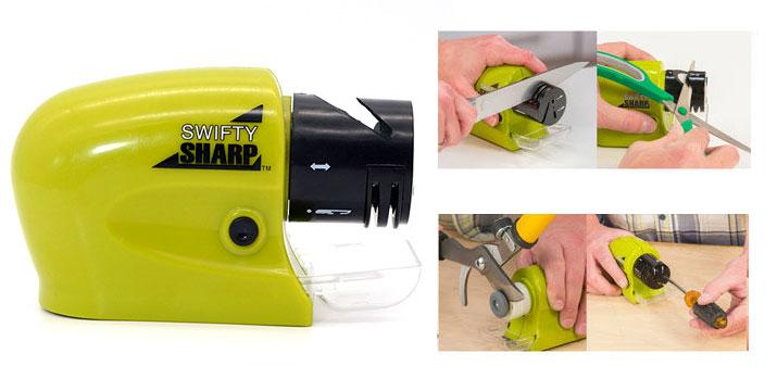 8,90€ από 12,90€ για έναν Ηλεκτρικό Ακονιστή για μαχαίρια, ψαλίδια και εργαλεία, με παραλαβή από το Μagic Hole στo Παγκράτι και δυνατότητα πανελλαδικής αποστολής στο χώρο σας. εικόνα