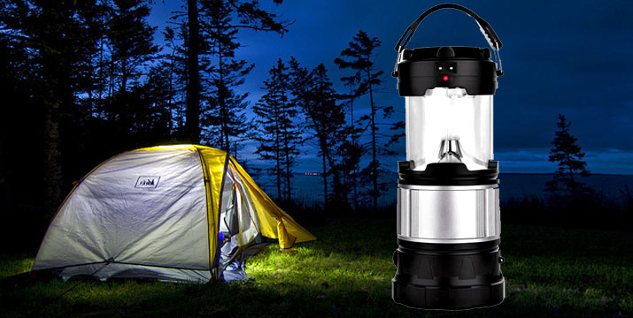 11,90€ από 16,90€ για ένα Ηλιακό Φανάρι LED με Φακό για κάμπινγκ, από την DoneDeals Goods με ΔΩΡΕΑΝ πανελλαδική αποστολή στο χώρο σας.