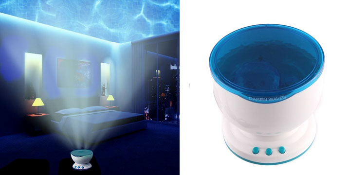 """14,90€ από 24,90€ για έναν Projector με Θαλάσσια Κύματα & Ήχο, με παραλαβή ή δυνατότητα πανελλαδικής αποστολής στο χώρο σας από το """"Idea Hellas"""" στη Νέα Ιωνία. εικόνα"""
