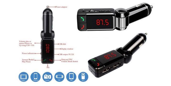 15,90€ από 32,90€ (-52%) για ένα Bluetooth Car Kit για Ανοιχτή Συνομιλία στο Αυτοκίνητο & Διπλός USB Φορτιστής για κινητά και tablets,  με παραλαβή από το κατάστημα Magic Hole στο Παγκράτι και με δυνατότητα πανελλαδικής αποστολής.