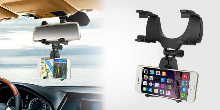8,90€ για μια Βάση Στήριξης Κινητών, Κάμερας και GPS στον καθρέφτη του αυτοκινήτου, με παραλαβή από το κατάστημα MagicHole στο Παγκράτι ή με πανελλαδική αποστολή. εικόνα