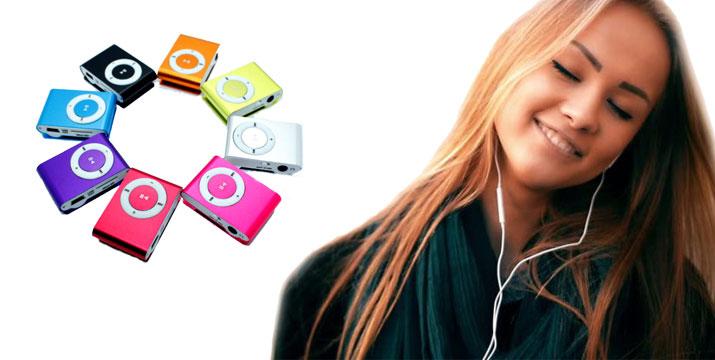 9,90€ για ένα Mini Φορητό mp3 player με ακουστικά, είσοδο για MicroSD και οθόνη LCD, από την DoneDeals Goods με ΔΩΡΕΑΝ πανελλαδική αποστολή στο χώρο σας. εικόνα