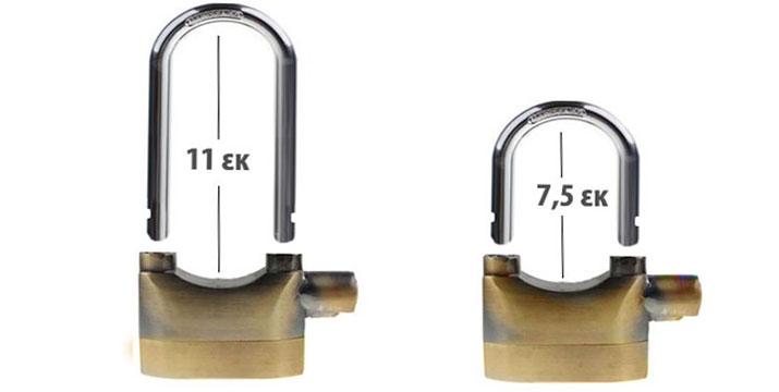 10,90€ από 24,90€ (-56%) για ένα Διπλό Λουκέτο Αlarm Disc Lock με συναγερμό 110 dB από Ατσάλι, με παραλαβή από το κατάστημα Magic Hole στο Παγκράτι και με δυνατότητα πανελλαδικής αποστολής.