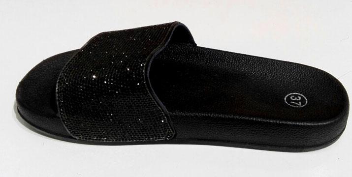 14,90€ από 29,90€ (-50%) για ένα ζευγάρι γυναικεία σανδάλια Crystal Sliders σε Ασημί ή Μαύρο χρώμα (Νο 36-41) για εξόδους με λάμψη, από την DoneDeals Products με ΔΩΡΕΑΝ πανελλαδική αποστολή στο χώρο σας.