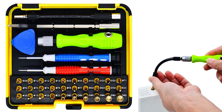 12,40€ για ένα Σετ Εργαλείων Επισκευής Κινητών & Laptopsμε 37 εργαλεία, με δυνατότητα παραλαβής και πανελλαδικής αποστολής στο χώρο σας από την DoneDeals Goods. εικόνα