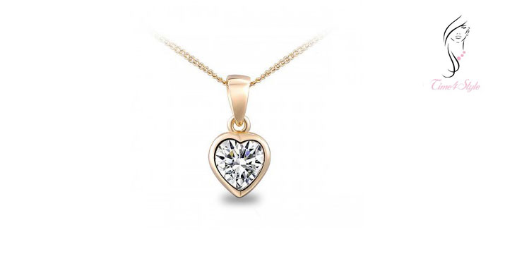 13,20€ από 22€ για ένα Κολιέ Swarovski Elements Golden Heart με σχήμα καρδιάς και πέτρα σε λευκή απόχρωση, με παραλαβή από το Time4Style  στο κέντρο της Αθήνας και δυνατότητα πανελλαδικής αποστολής στο χώρο σας.