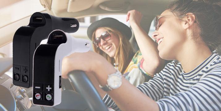 14,90€ από 22,90€ για έναν Πομπό Αυτοκινήτου για τη μετάδοση μουσικής με είσοδο SD/USB/AUX, Bluetooth και φορτιστή S18, από την DoneDeals Goods με ΔΩΡΕΑΝ πανελλαδική αποστολή στο χώρο σας. εικόνα