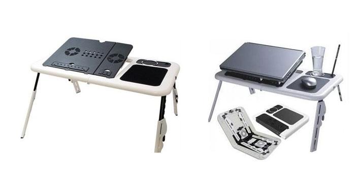 15,90€ από 29,90€ για ένα Τραπεζάκι Laptop με 2 Ανεμιστήρες Ψύξης,  με παραλαβή από το κατάστημα Magic Hole στο Παγκράτι και με δυνατότητα πανελλαδικής αποστολής.
