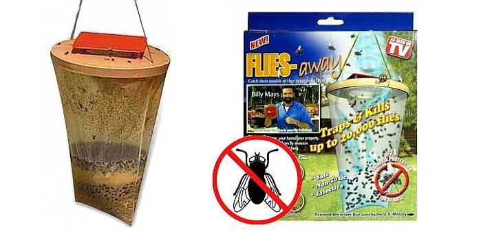 6,80€ από 12€ για μια Οικολογική Παγίδα για Μύγες μη Τοξική, με παραλαβή από το κατάστημα Magic Hole στο Παγκράτι και με δυνατότητα πανελλαδικής αποστολής.