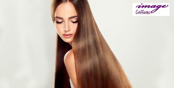 27€ από 55€ (-50%) για λαμπερά, περιποιημένα, μεταξένια και χωρίς φριζάρισμα μαλλιά έως και 6 μήνες, για να απαλλαγείτε από το πιστολάκι και τα ισιωτικά σίδερα, με την επαναστατική θεραπεία μαλλιών Brazilian Keratin Treatment στο Image Coiffure στο Νέο Κόσμο, πλησίον μετρό Συγγρού-Φίξ!! εικόνα